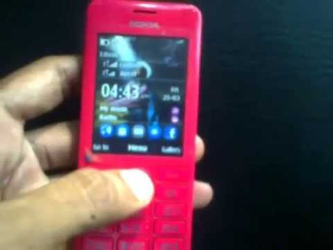 How to Hard Reset NOKIA ASHA 206 in 10 seconds!!