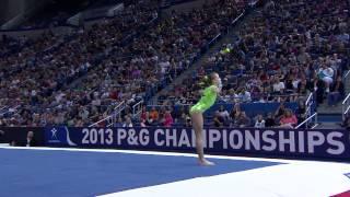 Madison Kocian - Floor Exercise - 2013 P&G Championships - Women - Day 1