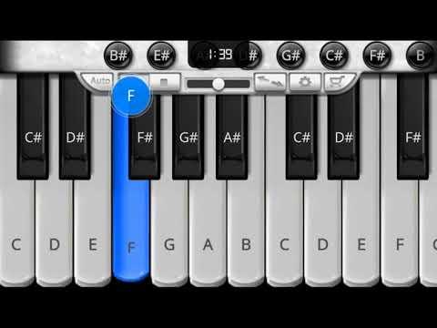 aankhe band karke jo ek chehra nazar aaya piano music , piano tutorial,wo tumhi ho ae sanam .