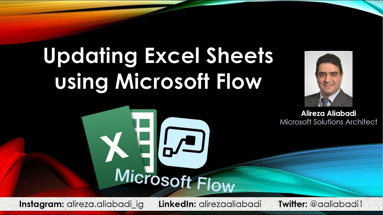 How to update excel tables from Microsoft Flow