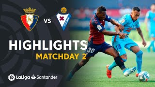Highlights CA Osasuna vs SD Eibar (0-0)