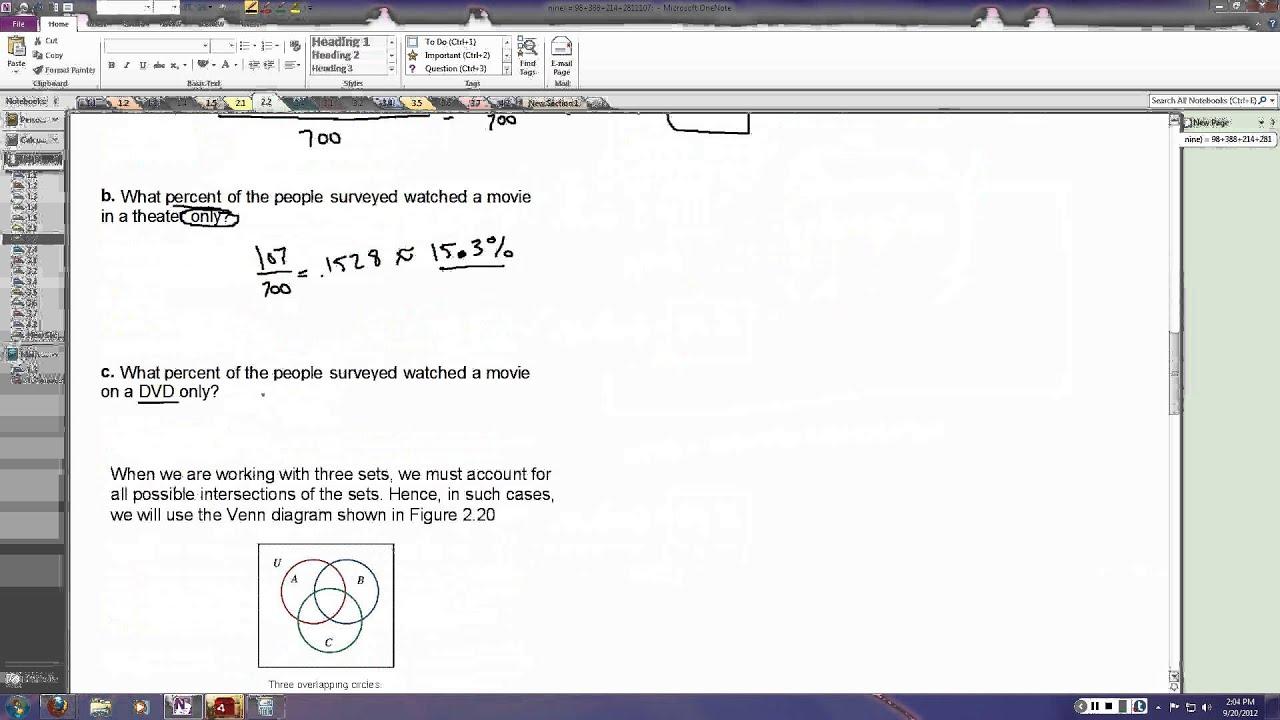 22 applications of venn diagrams youtube 22 applications of venn diagrams ccuart Choice Image