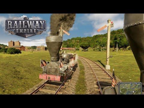 Организуем поставки оружия на юг в Railway Empire. Прохождение Главы 4