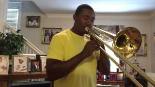Trumpets - Jason Derulo (Trombone Cover) Glenn Hill
