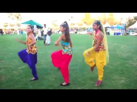 Indian Modern Style Folk Dance @ Irvine Global Village Festival 2015