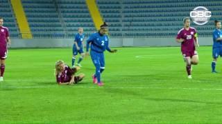 AÇ U-19 Qızlar: Latviya - Azərbaycan 0:4