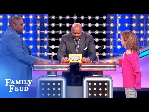 Heather Burnside - FAMILY FEUD: Castaways Use Coconuts To Make This (???)
