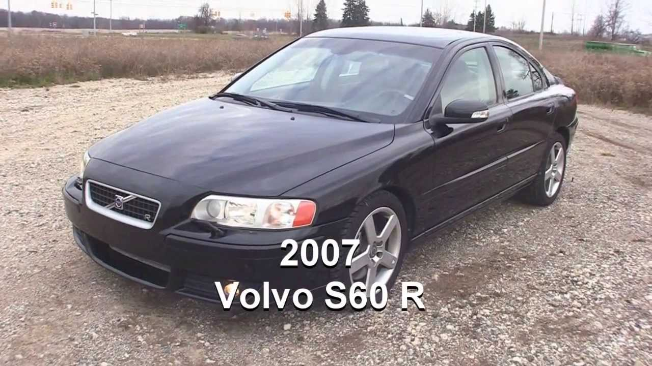 2007 Volvo S60 R >> 2007 Volvo S60r 300hp Test Drive Youtube