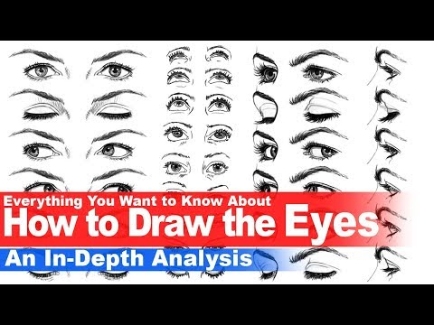 Everything You Need to Know About How to Draw the Eyes (In-depth Analysis)
