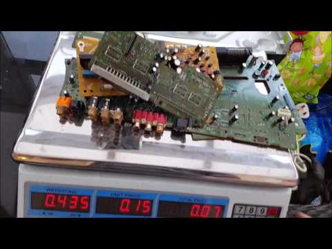 scrapping a dvd player to determine its value