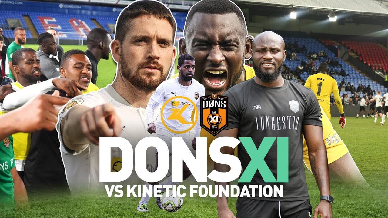 SE DONS XI vs KINETIC FOUNDATION @ SELHURST PARK | 'Sunday League Football'