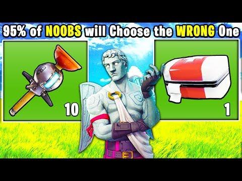 10 DUMBEST Decisions NOOBS Make in FORTNITE