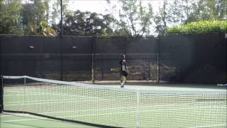 Seongchan Hong vs Francis Tiafoe - 50th Junior Orange Bowl International Tennis Championship