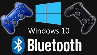 Jugar con MANDO de PS3/PS4 por CABLE y BLUETOOTH en PC (con demostración) - Windows 10/8/7 (2019)