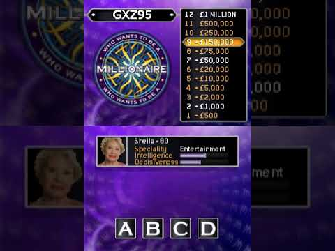 Who Wants to be a Millionaire: 2nd Edition (NDS Gameplay) |