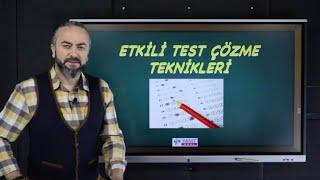 Etkili Test Çözme Teknikleri Nelerdir? | Soru Çözme Yöntemleri