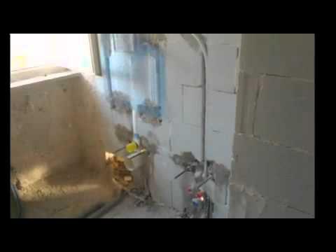 Impianto idraulico bagno youtube