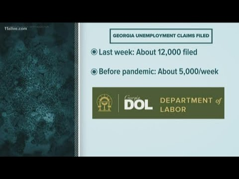 Department of Labor asks people filing for unemployment to be patient