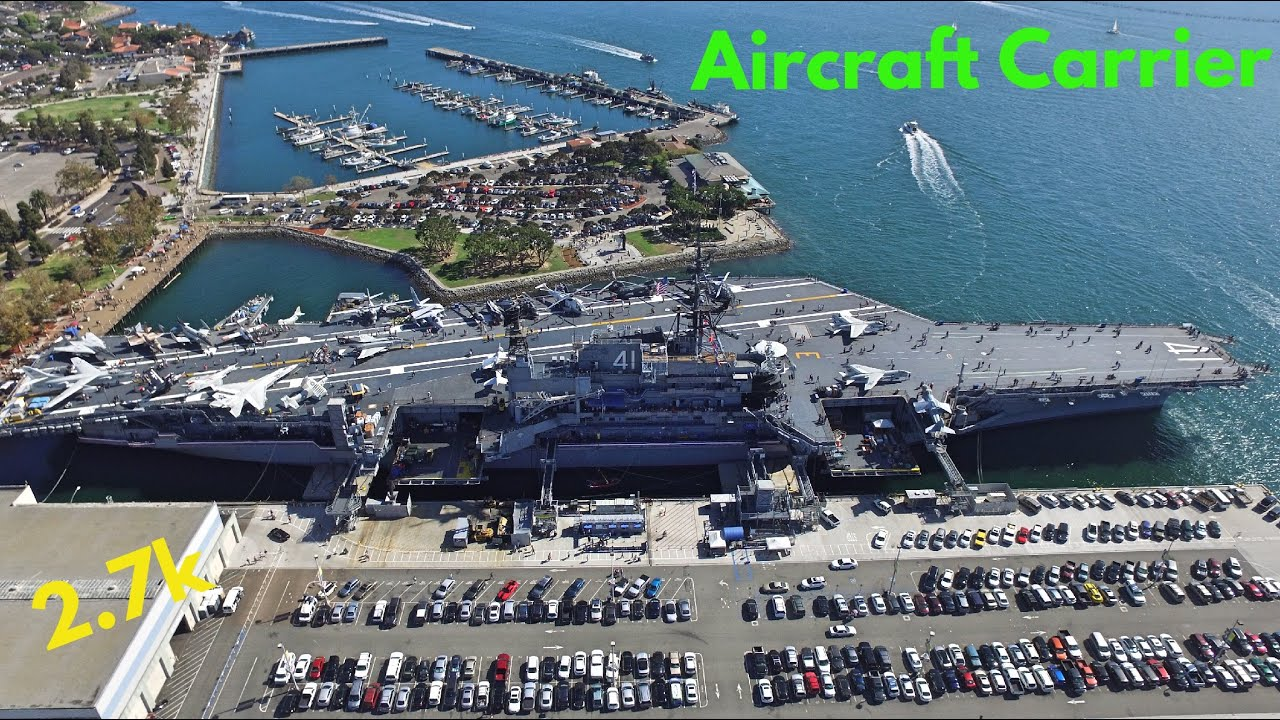 Air Craft Carrier Museum In San