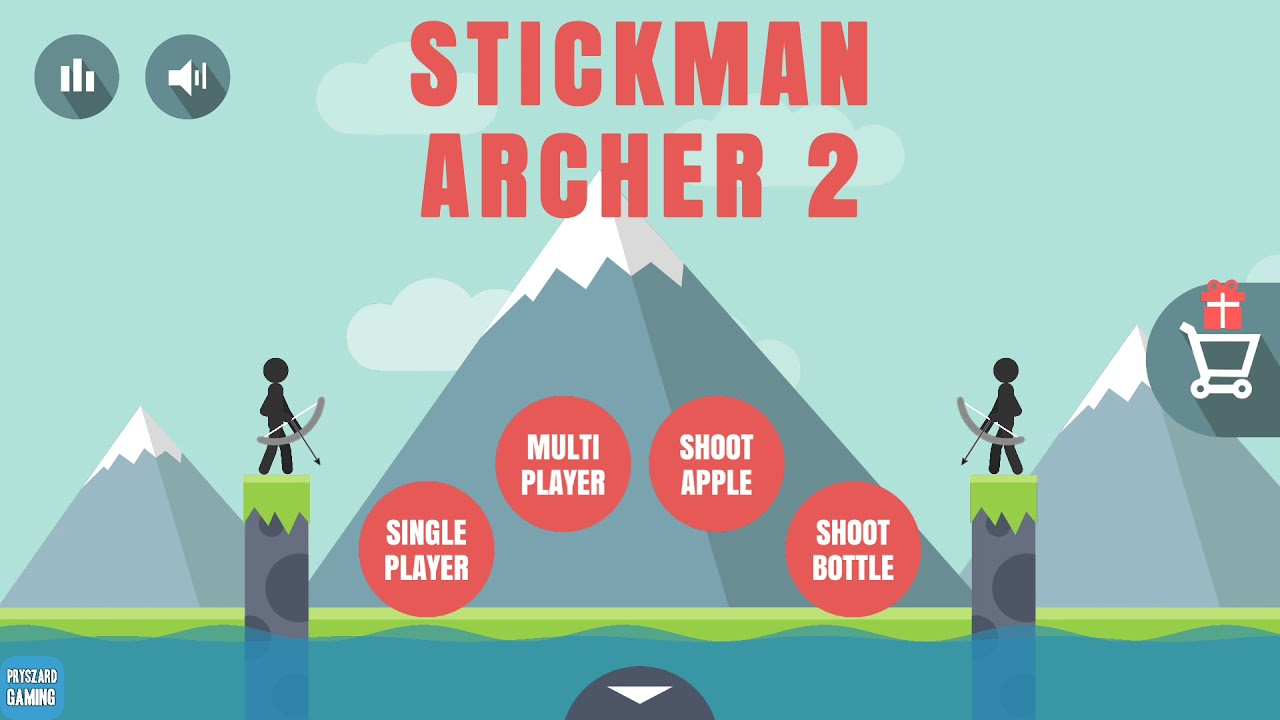 bow man - stick archery android gameplay hd - youtube