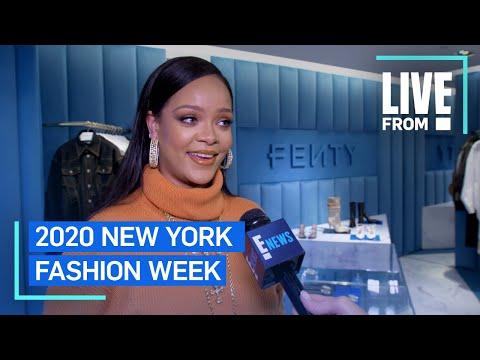 "Rihanna Defines ""Freedom"" In Fashion At NYFW   NYFW   E! Red Carpet & Award Shows"