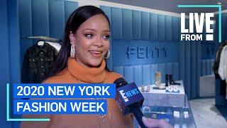 "Rihanna Defines ""Freedom"" in Fashion at NYFW | NYFW | E! Red Carpet & Award Shows"