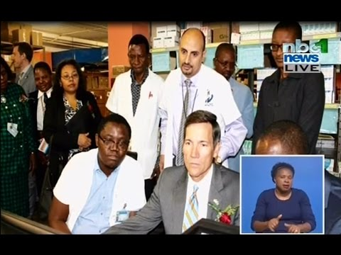Launch of Namibia Extension for Community Healthcare Outcomes (Project ECHO)