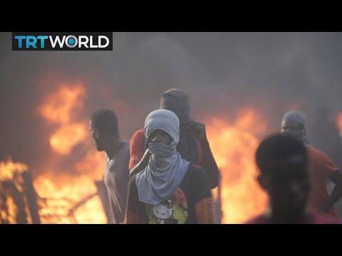 Thousands of Haitians protest against government corruption