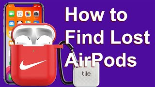 How to locate lost AirPods . How to find AirPods Case