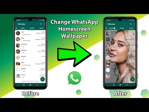 Change WhatsApp Home