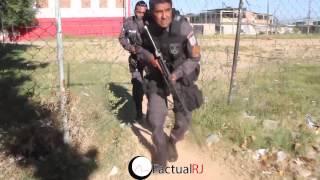 Operação na comunidade de Antares com confronto entre cão e gato