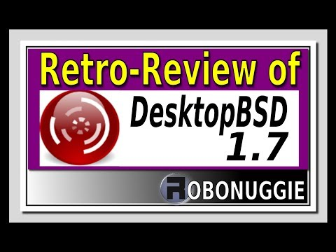 A Retro-Review Of DesktopBSD 1.7 - An Early FreeBSD User-friendly OS