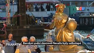 Barokní vodní slavnosti Navalis byly velkolepé