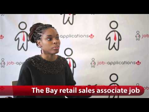 The Bay Retail Sales Associate Job