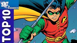 Top 10 Robin Moments From Teen Titans #1