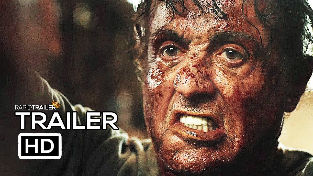 great fit 81b90 b79ff RAMBO 5  LAST BLOOD Official Trailer (2019) Sylvester Stallone, Action  Movie HD