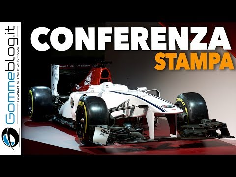 Alfa Romeo Sauber F1 Car 2018 WORLD PREMIERE Press Conference