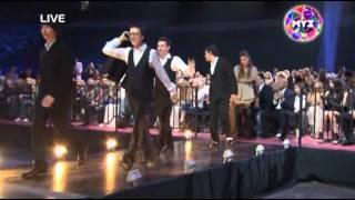 ПРемия МУЗ-ТВ 2011. A'STUDIO - Лучшая поп-группа