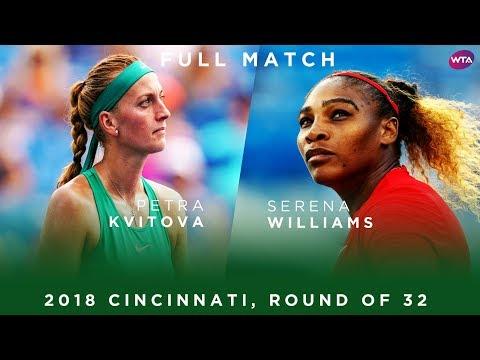 Serena Williams vs. Petra Kvitova | Full Match | 2018 Cincinnati Round of 32