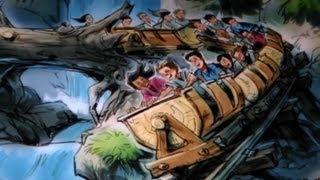 Seven Dwarfs Mine Train Roller Coaster Animation New Fantasyland Magic Kingdom Walt Disney World
