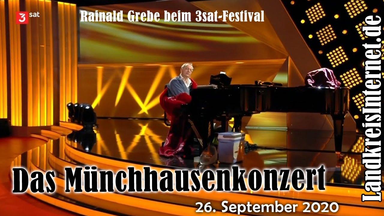 Münchhausen wird 300. Rainald Grebe: Das Münchhausenkonzert