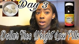 DOLLAR TREE- Nature's Measure Weight Loss Pills Day 3- Update | Weight Loss VLOG