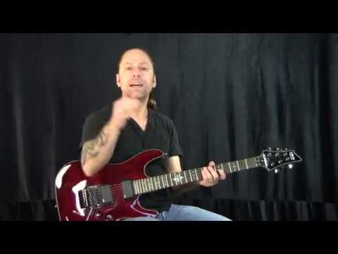 steve stine guitar lesson how to palm mute and hand placement youtube. Black Bedroom Furniture Sets. Home Design Ideas