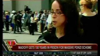Instant Reaction - Madoff Gets 150 Years - Bloomberg