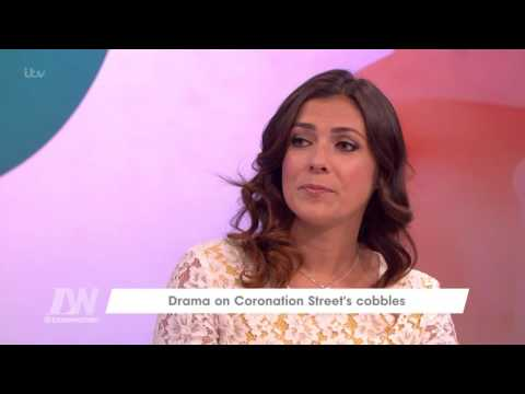 Kym Marsh On Working With Simon Gregson | Loose Women