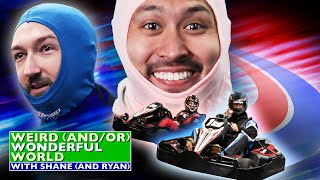 Shane vs. Ryan: High-Speed Kart Racing • Weird Wonderful World