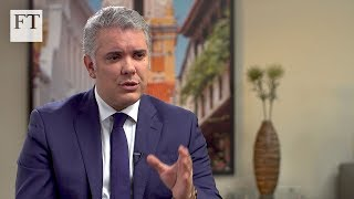 Colombian president Iván Duque on Maduro, drugs and the economy