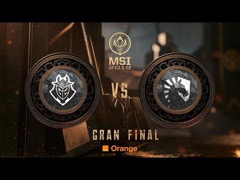 G2 ESPORTS VS TEAM LIQUID | MSI 2019 GRAN FINAL MAPA 3 | League of Legends