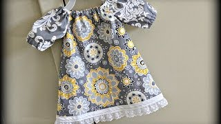 Baby Dress (Sewing For Beginners)