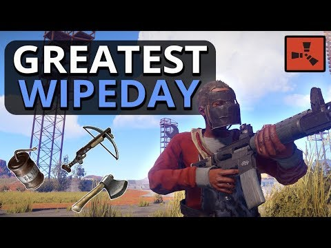 My BEST WipeDay For A LONG TIME!! Rust SOLO Survival Gameplay